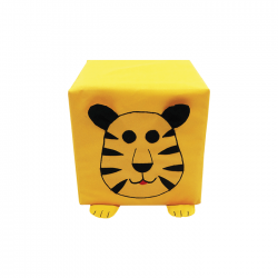 Kształtka zoo tygrys