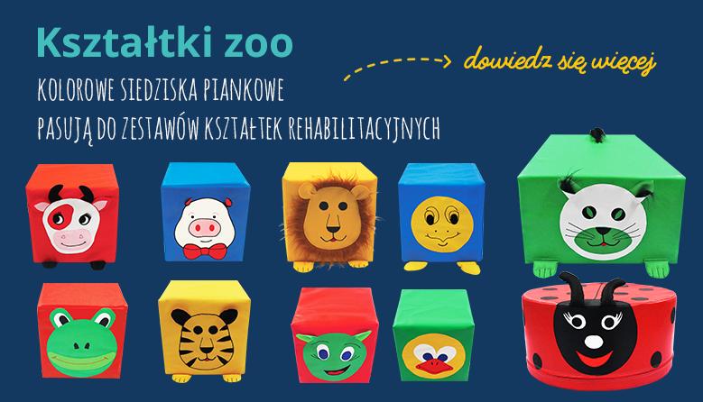 Kształtki Zoo